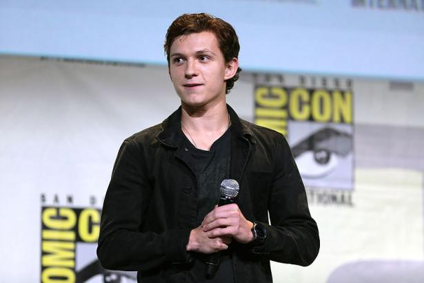 Tom Holland interpreta a Sipderman en la nueva versión del comic de Stan Lee
